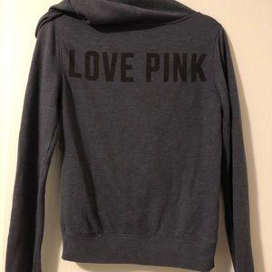 PINK Victoria's Secret Tops - Pink Zip-up Hoodie